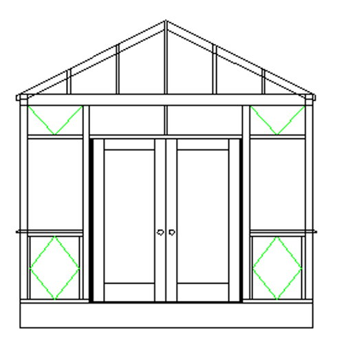 How to build a shed into a hillside info for Hillside greenhouse plans
